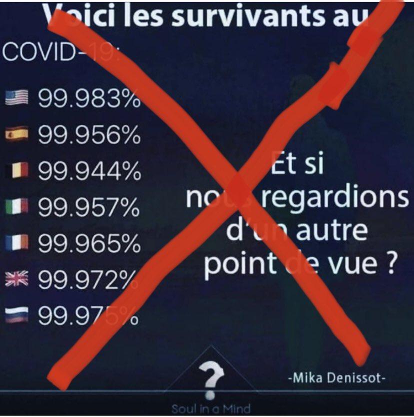 L'exposé erroné de Laurent Ruquier pour minimiser la gravité du Covid-19